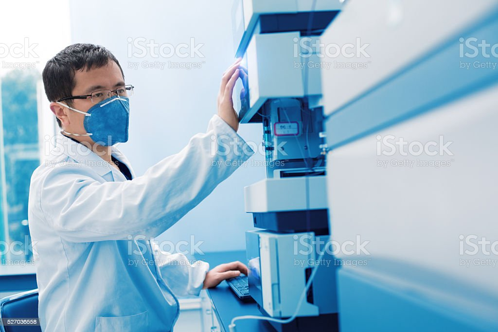 Inspection and testing stock photo