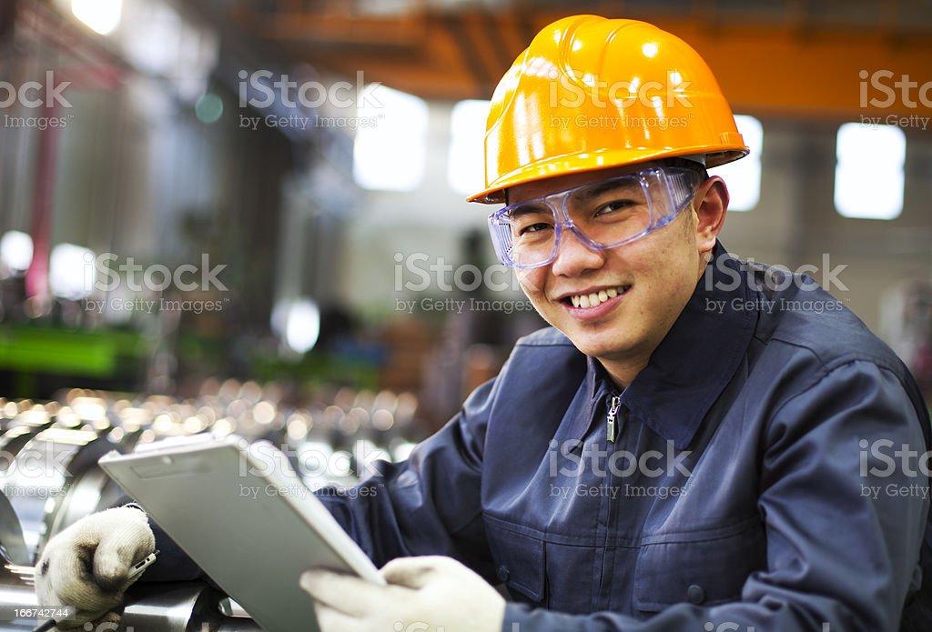 Kontrollinspektoren Industrie Lizenzfreies stock-foto