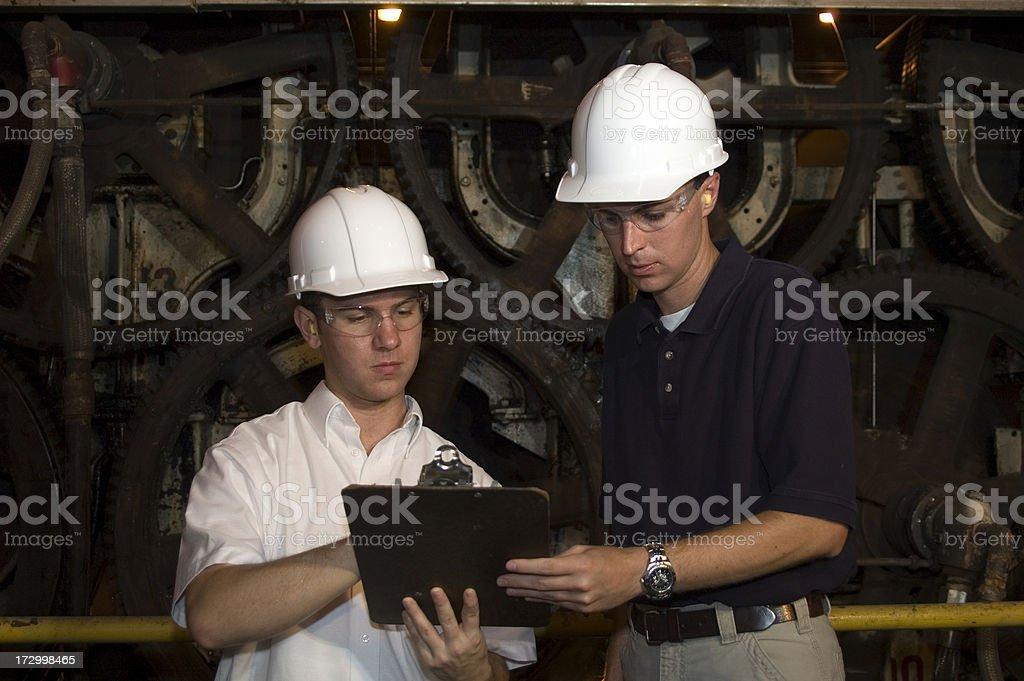 OSHA Inspectors stock photo