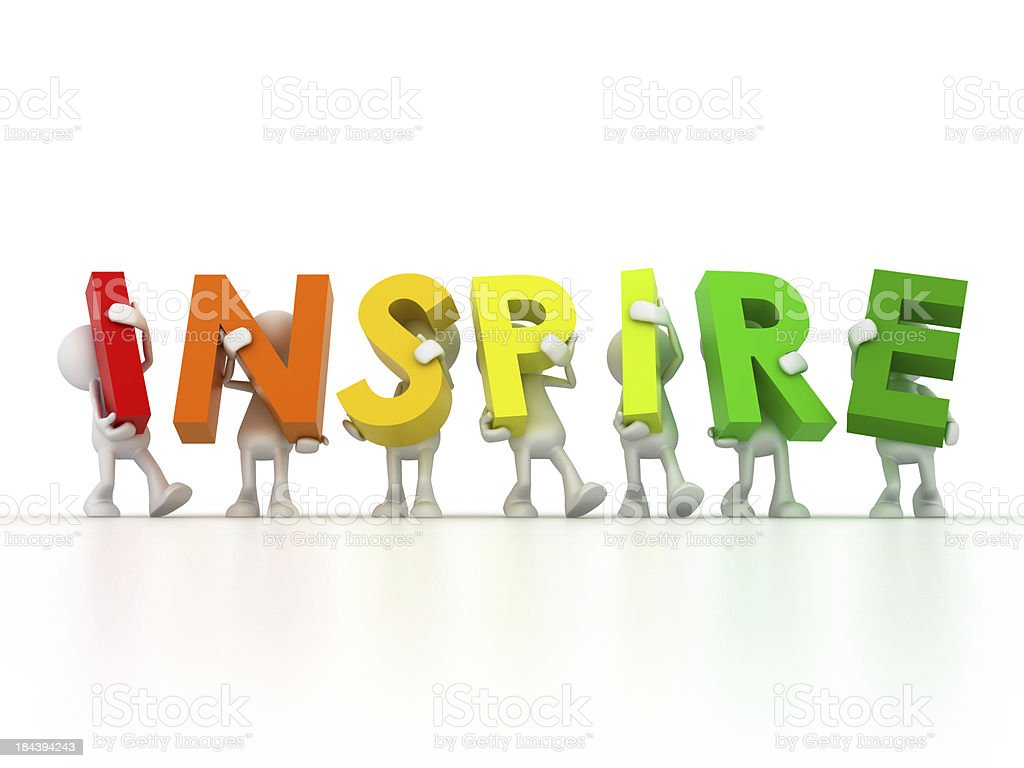 inspiration team royalty-free stock photo