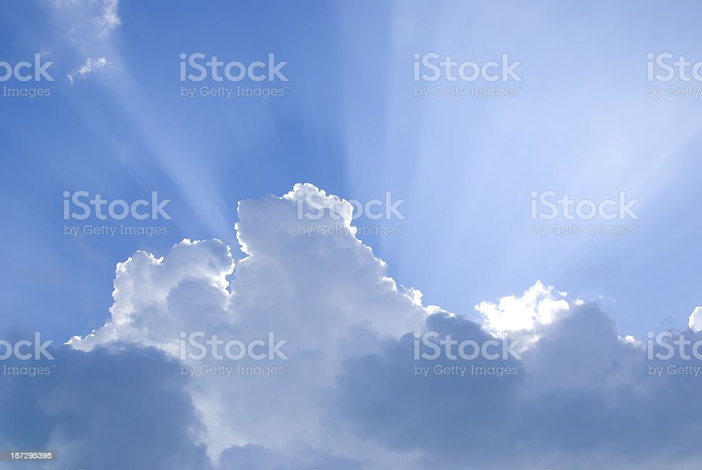 Inspirational Clouds II stock photo