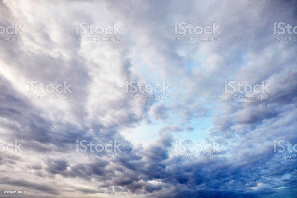 Inspirational Clouds stock photo