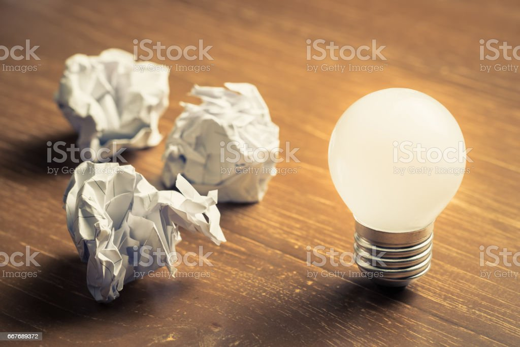 Inspire Idea stock photo