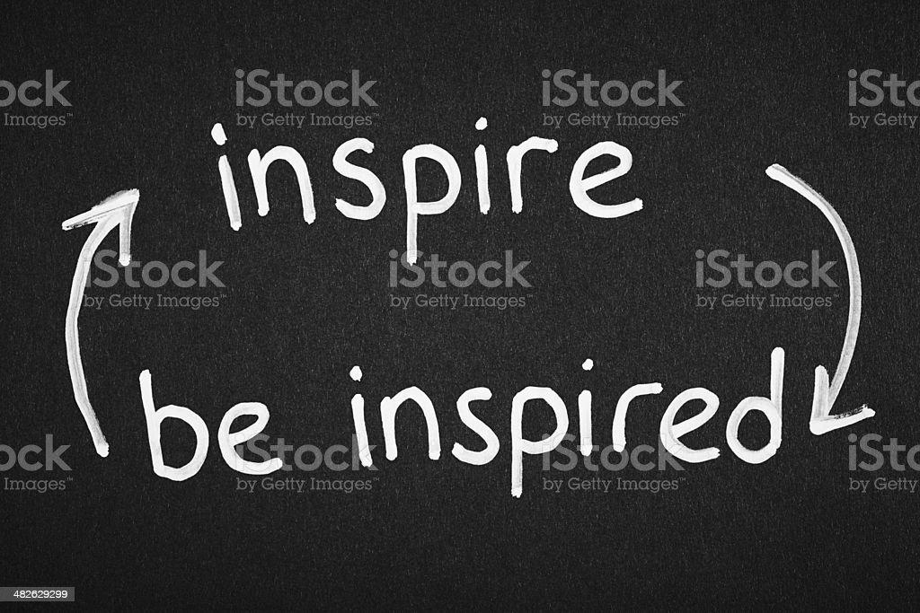 Inspire stock photo