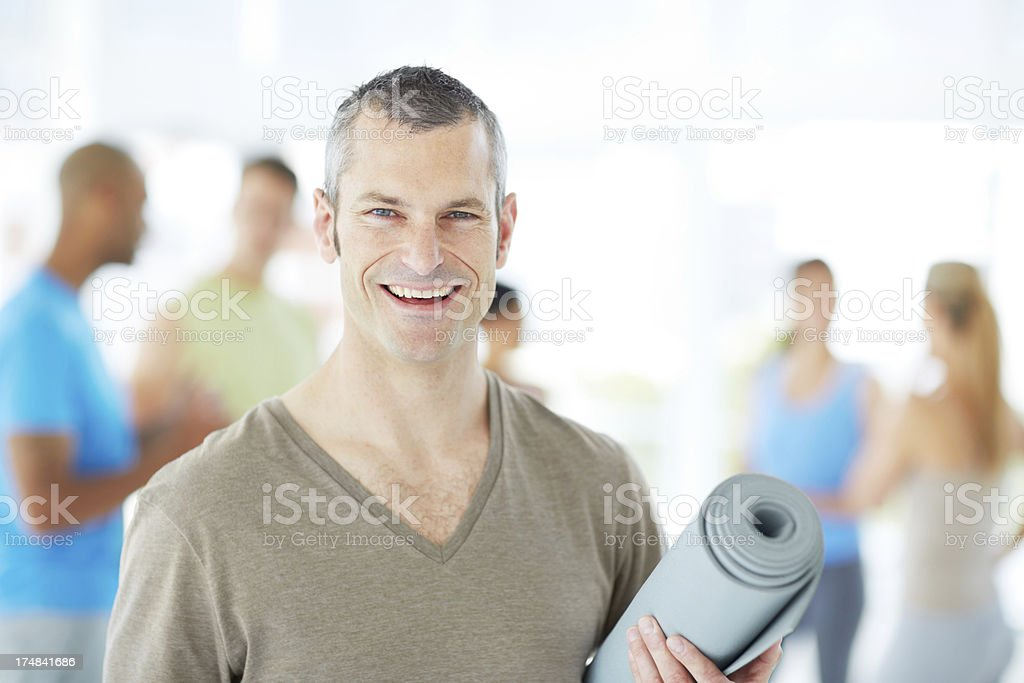 Inspired to live a healthier life royalty-free stock photo