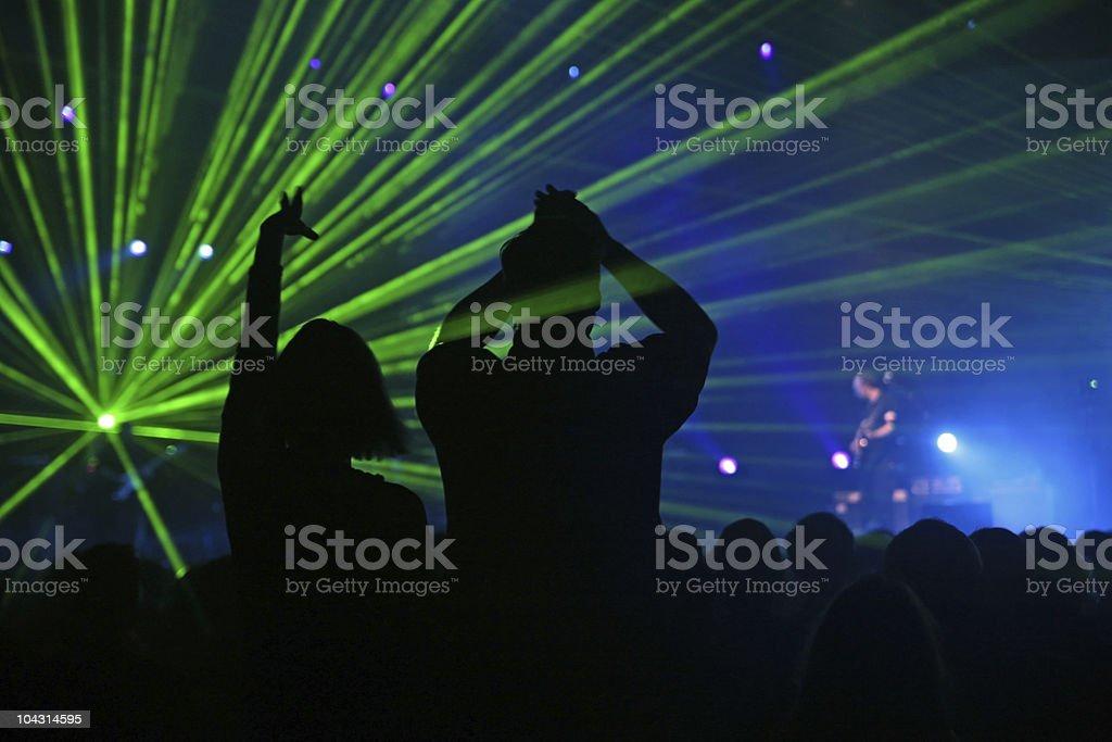 Inspiring concert royalty-free stock photo