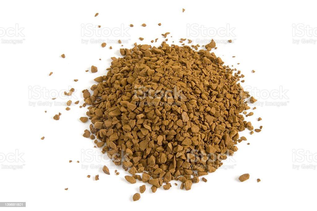 Instant Coffee Granules stock photo