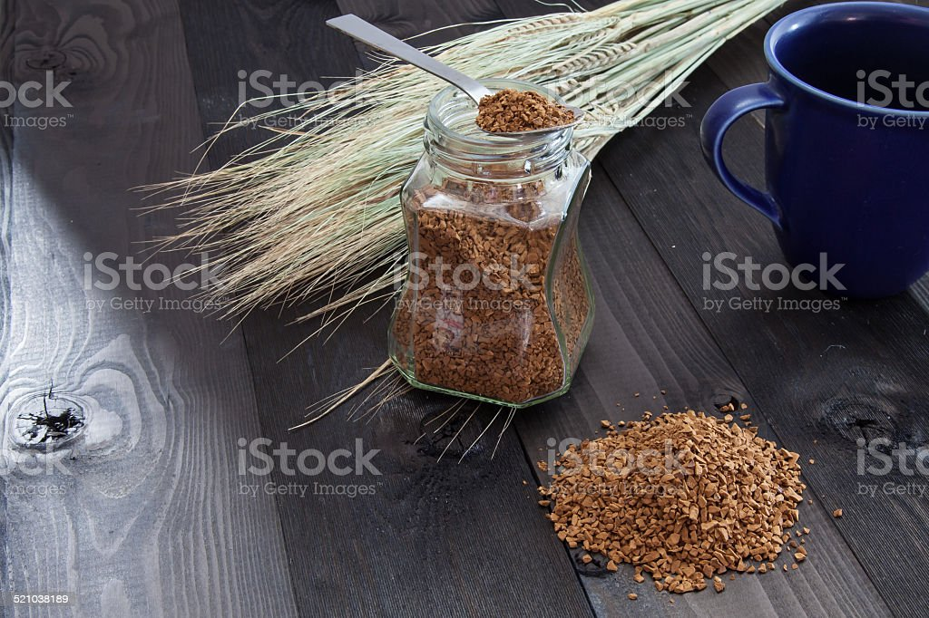 Café instantáneo foto de stock libre de derechos
