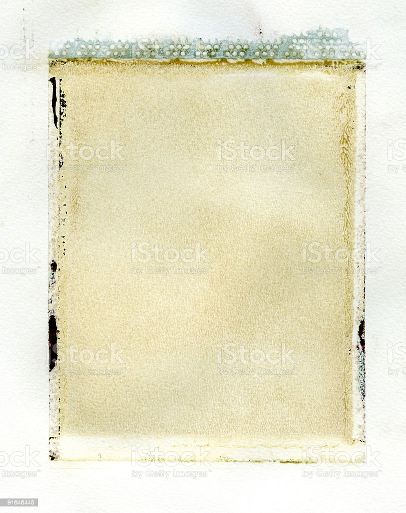 instant emulsion transfer royalty-free stock photo
