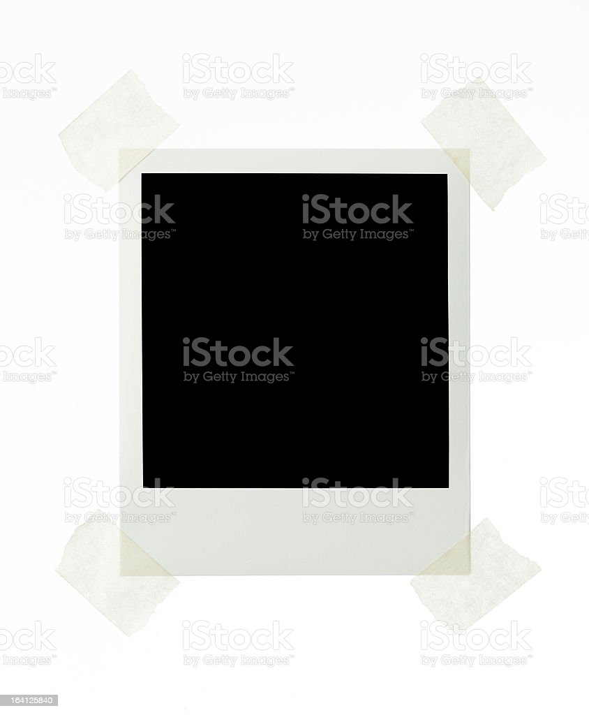 Instant Image royalty-free stock photo