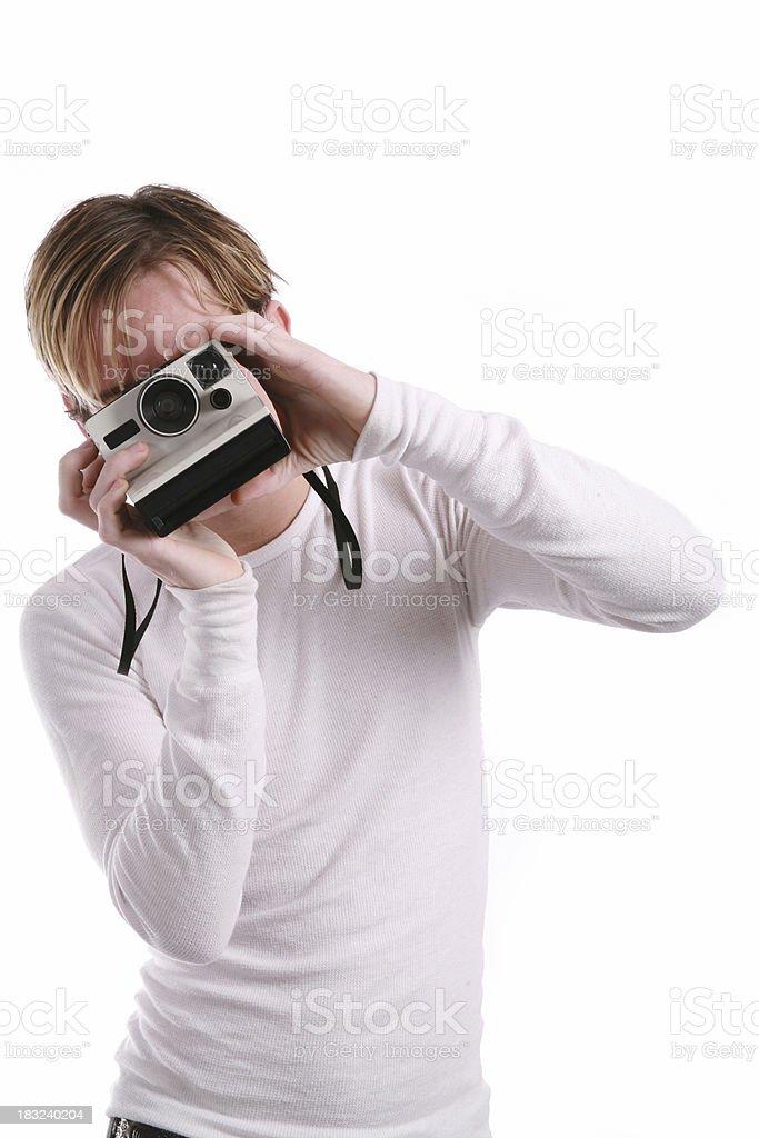 Instant Photo royalty-free stock photo
