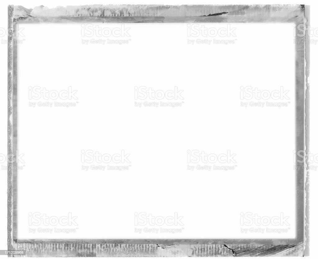 instant print photo frame royalty-free stock photo