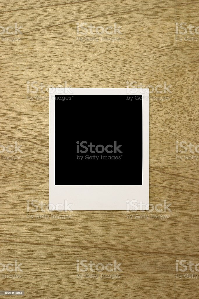 Instant print royalty-free stock photo