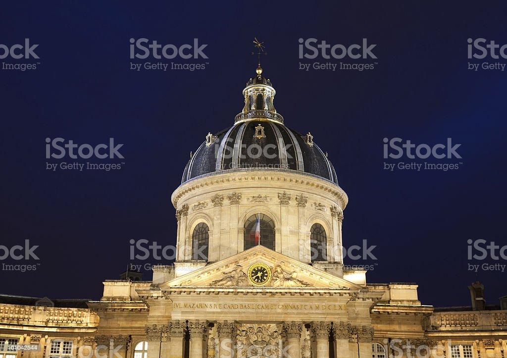 Institut de France, Paris stock photo