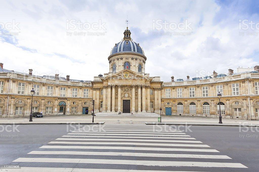 'Institut de France, Paris.' stock photo