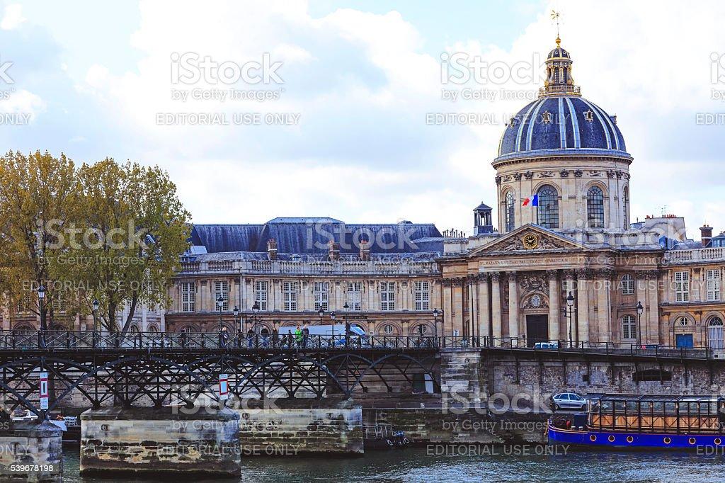 Institut de France stock photo
