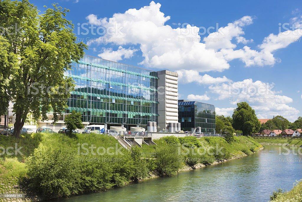 Institute of Oncology Ljubljana, Slovenia. stock photo