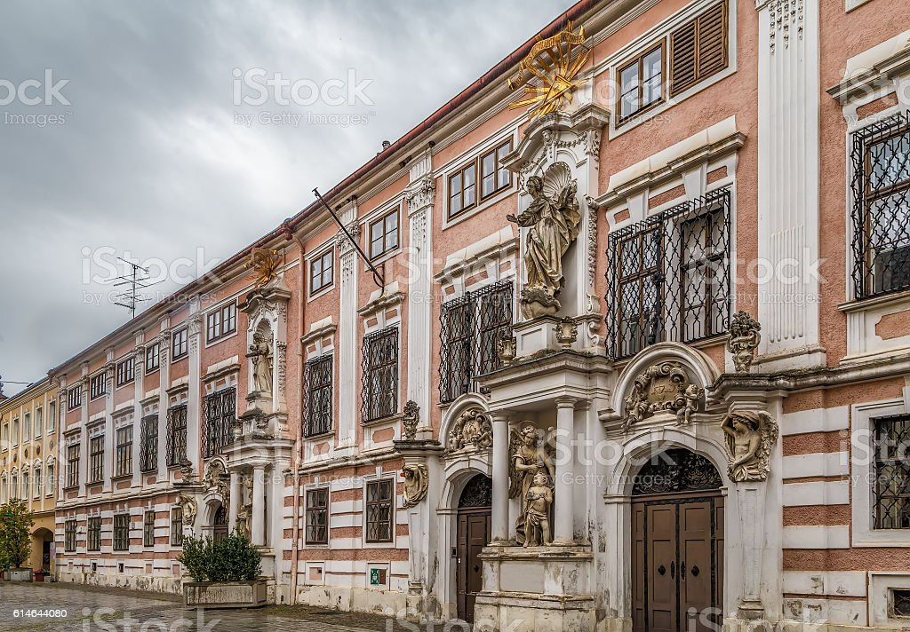 Institute of the Blessed Virgin Mary, Sankt Polten, Austria stock photo