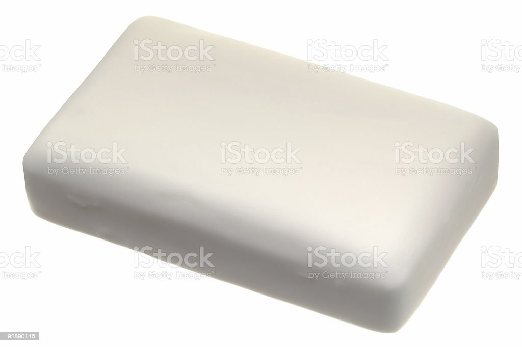 Institutional Soap stock photo