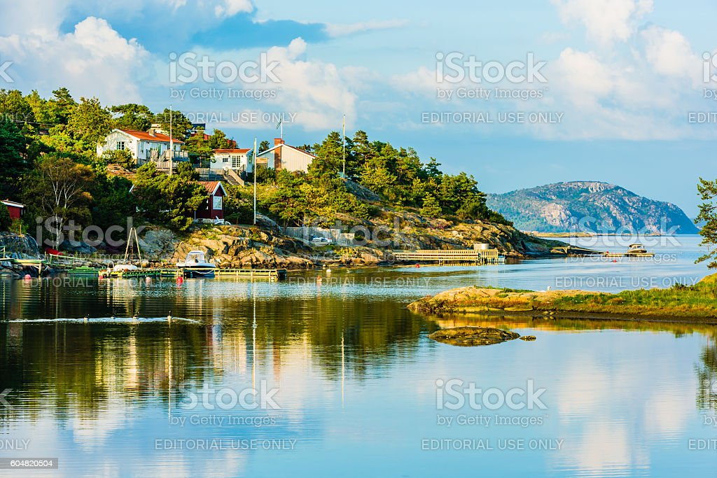 Inston archipelago stock photo