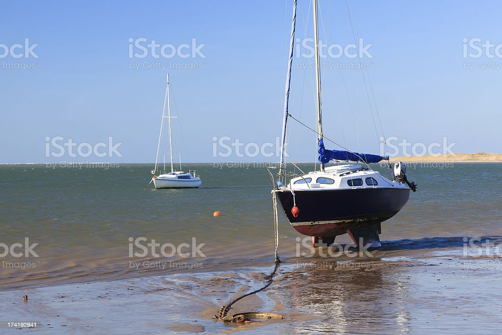 Instow Devon en Angleterre photo libre de droits
