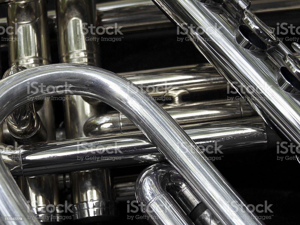 Instrument Jumble royalty-free stock photo