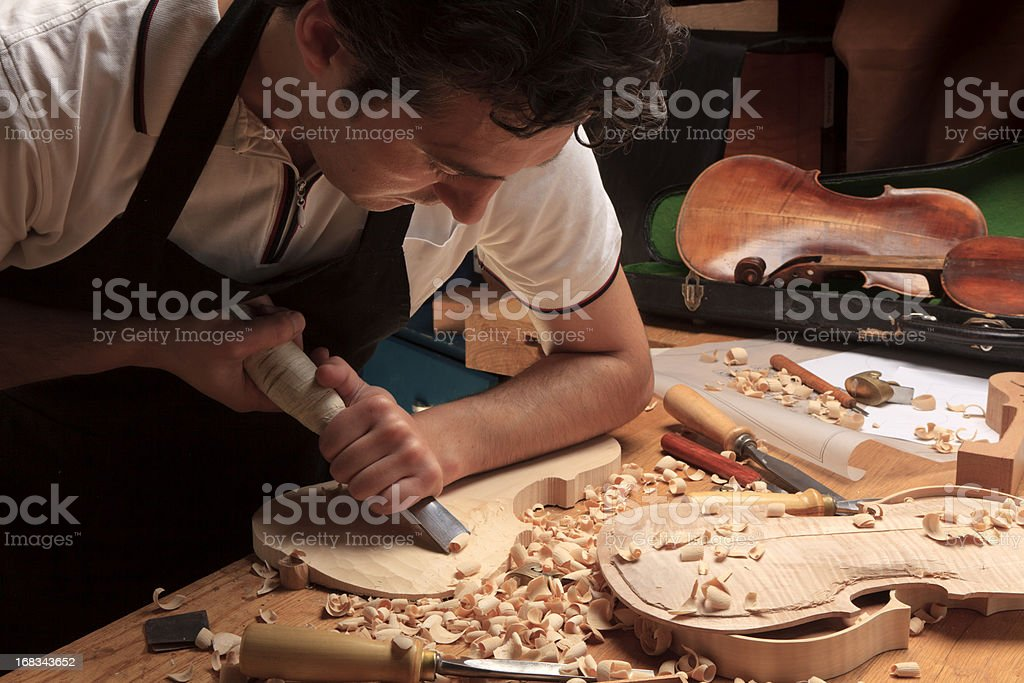 Instrument Maker royalty-free stock photo