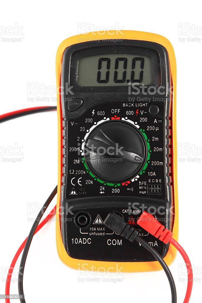 Instrument of measurement stock photo