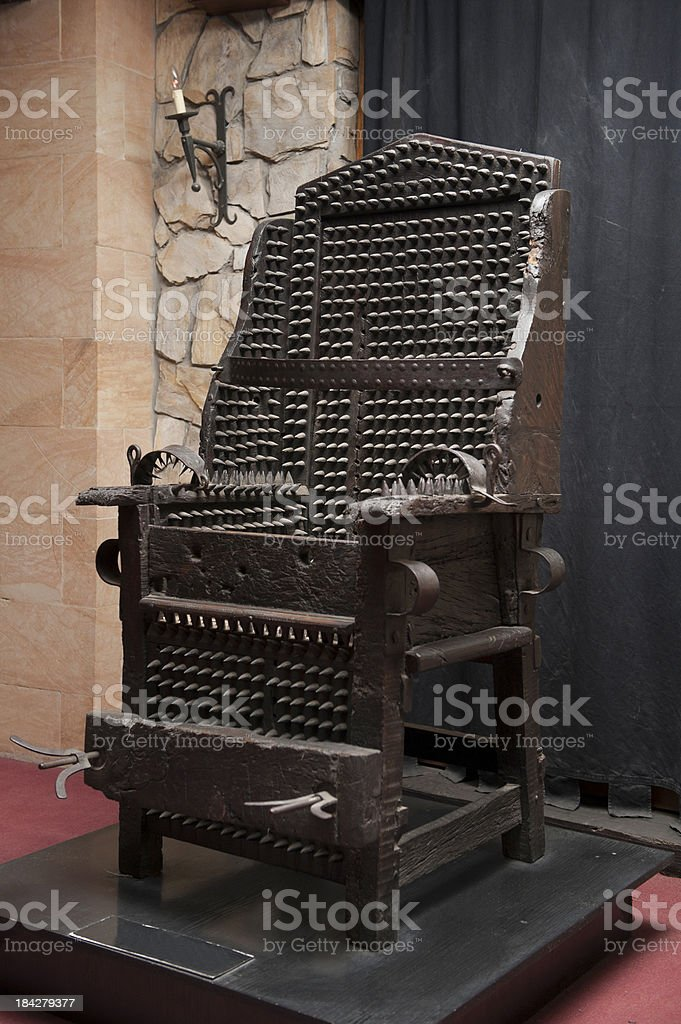 Instrument of torture stock photo