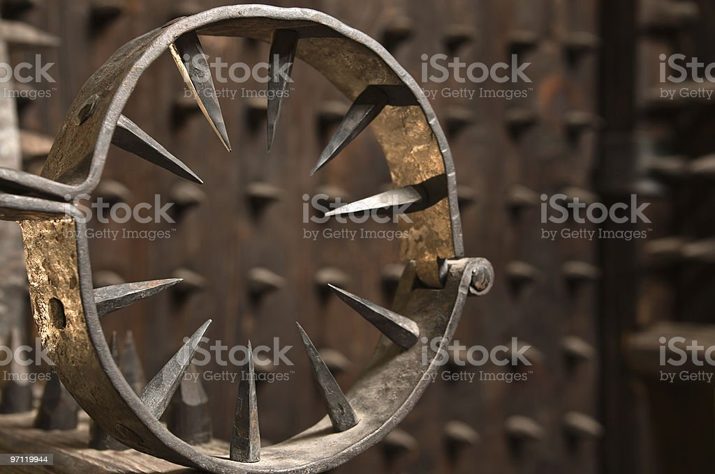 Instrument of torture. stock photo