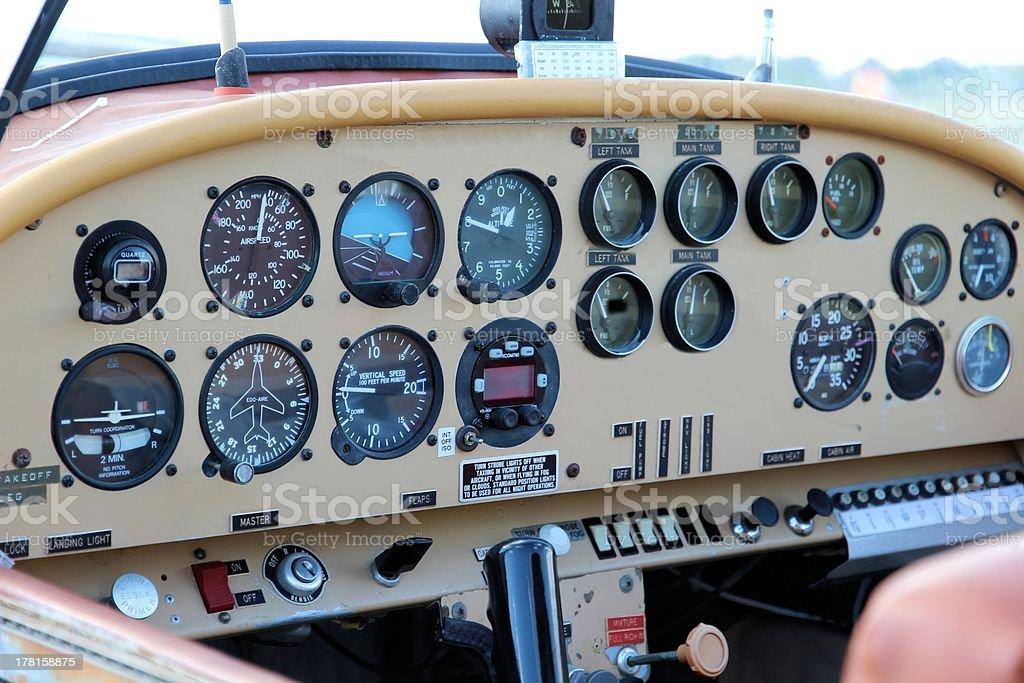 Instrument Panel royalty-free stock photo