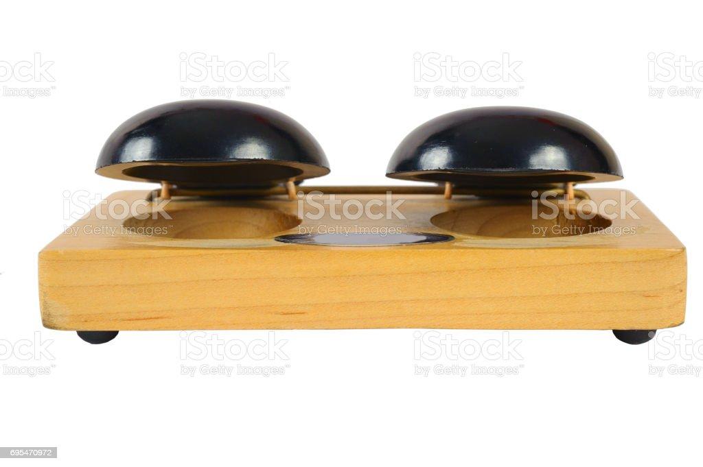 CASTANET MACHINE instrument stock photo