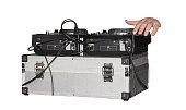 instruments DJ at a party