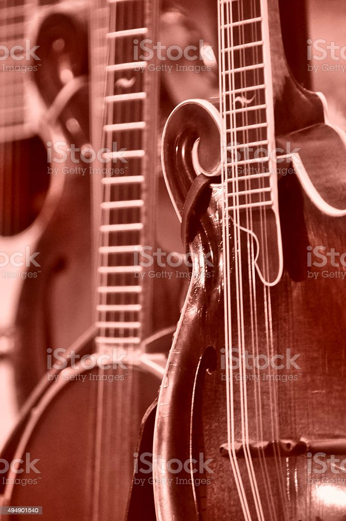 Instruments in a Row stock photo