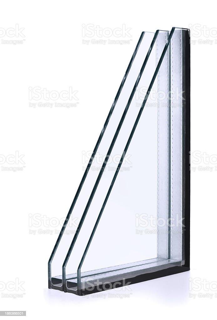 Insulated glazing stock photo