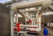 Insulated Pipes and Pumps for HVAC System
