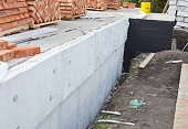 Insulating Exterior Foundation Walls. Foundation Waterproofing and Damp proofing Coatings.