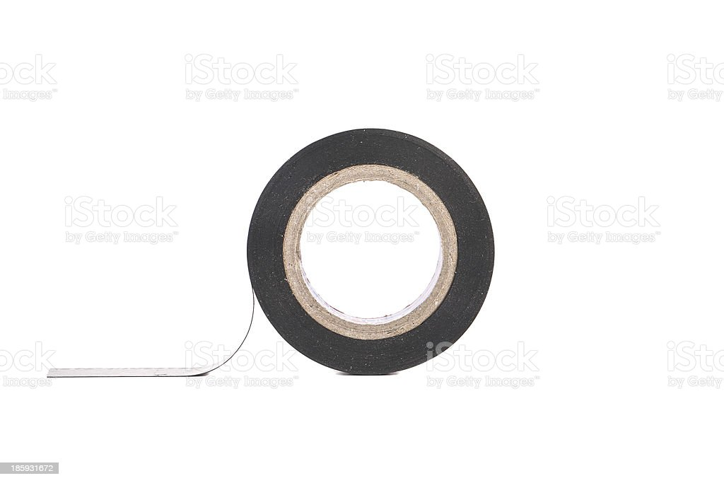 Insulating tape. royalty-free stock photo
