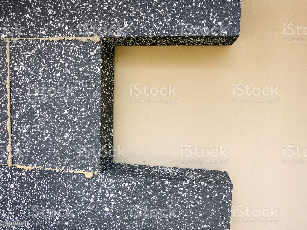 insulation plates stock photo