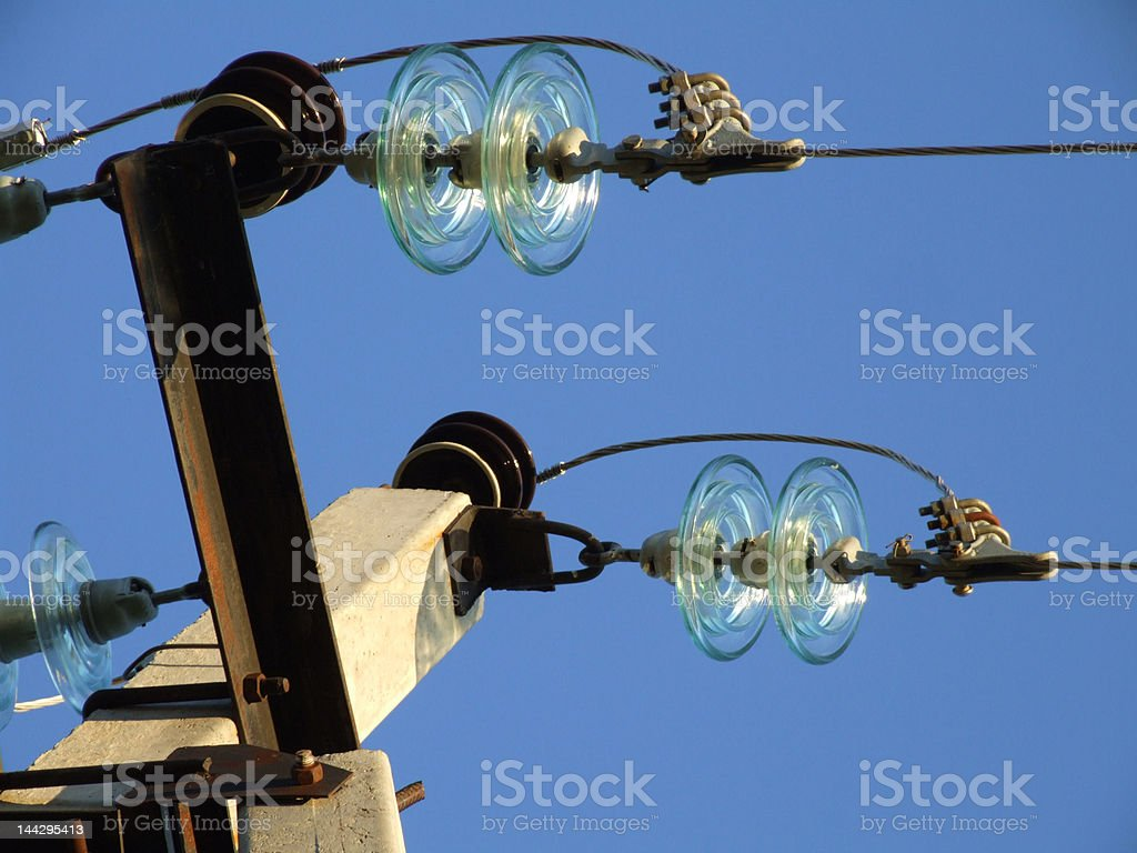 insulator royalty-free stock photo