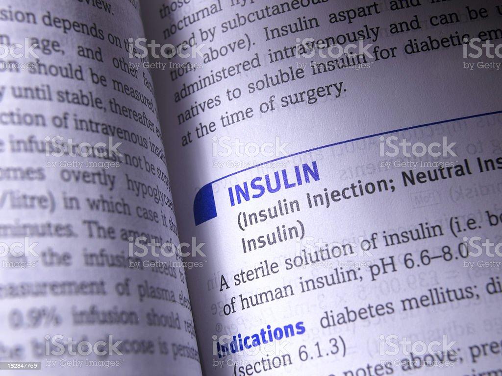insulin royalty-free stock photo