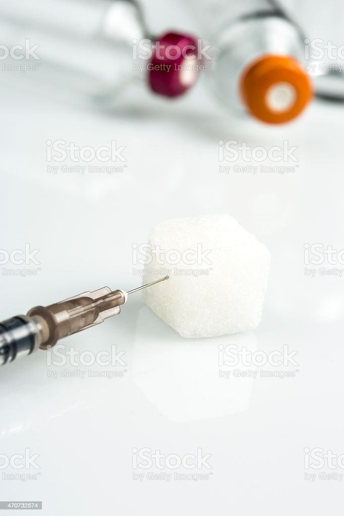 Insulin stock photo