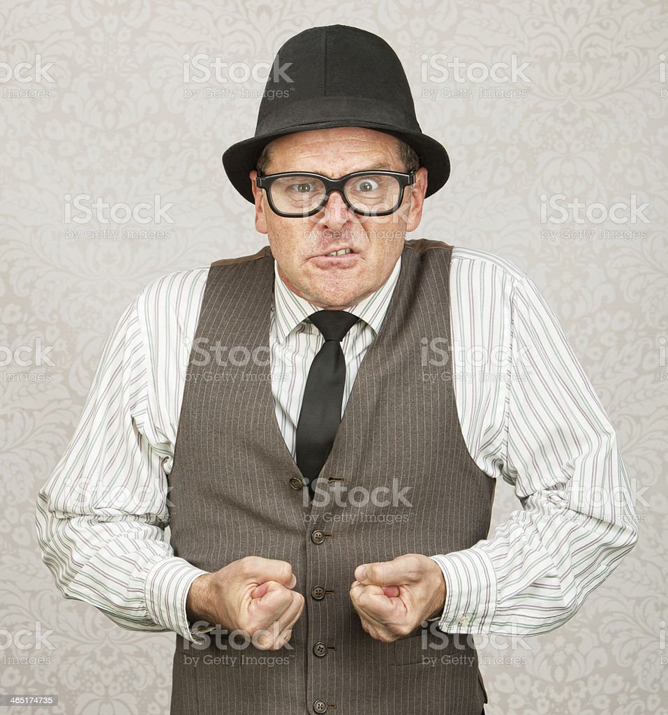 Insulted Businessman stock photo