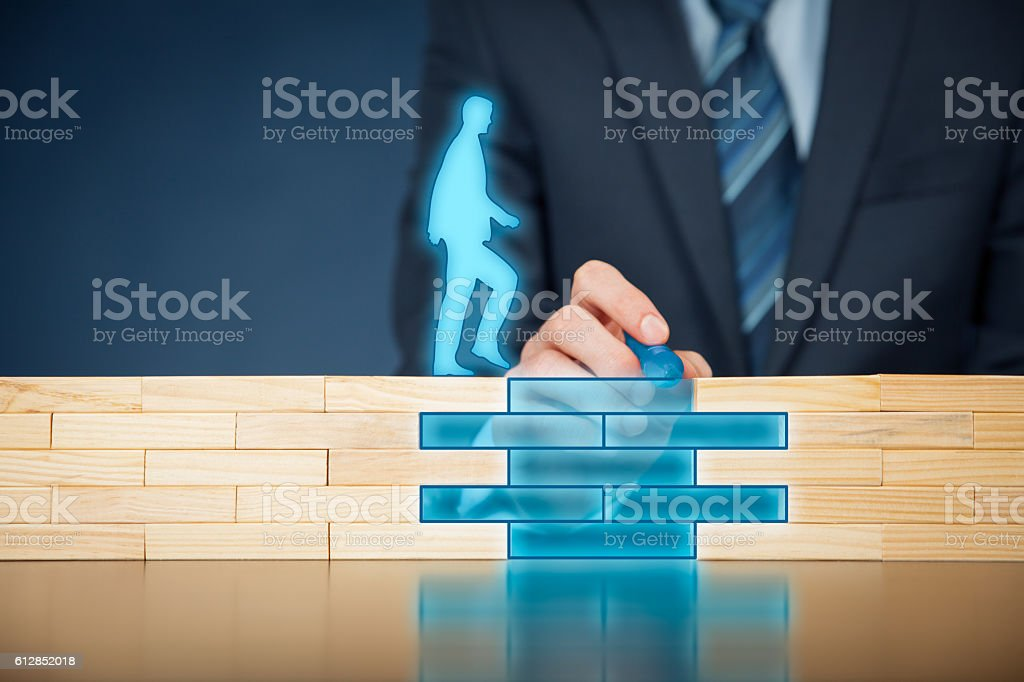 Insurance and risk management stock photo