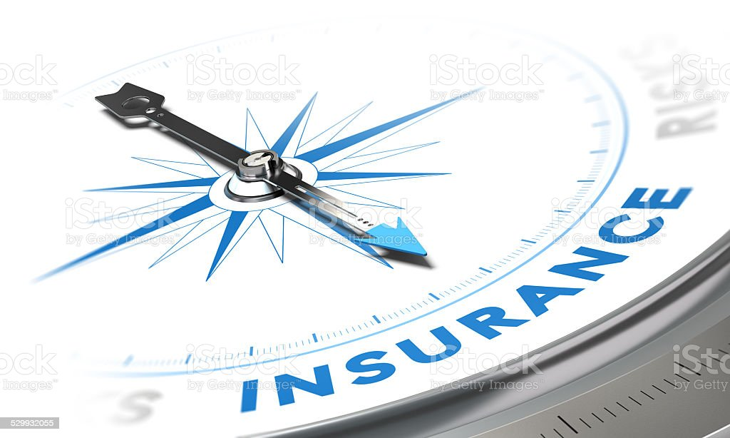 Insurance Background stock photo
