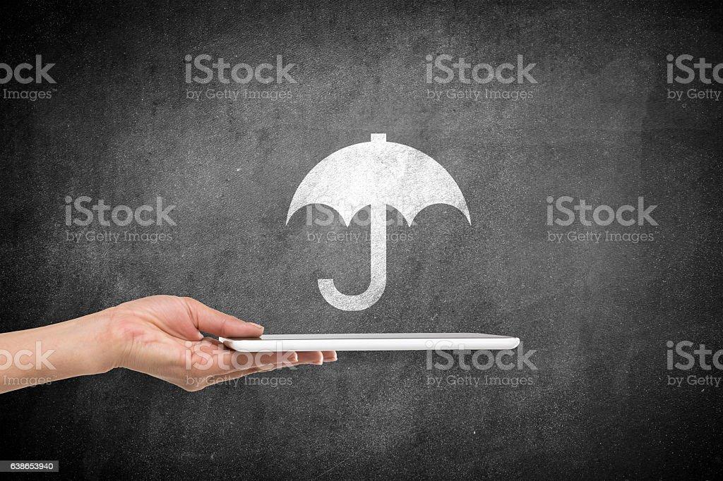 Insurance concept stock photo