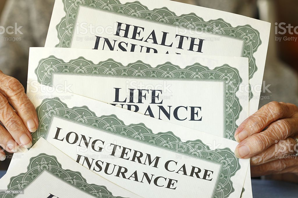 Insurance Costs royalty-free stock photo