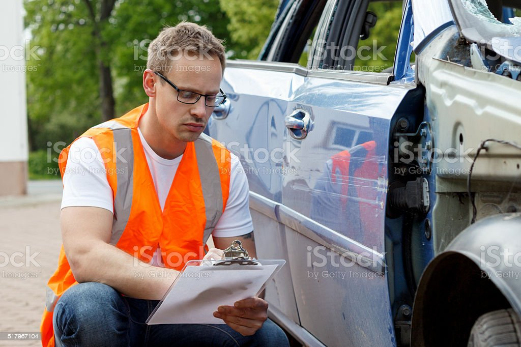 insurance expert stock photo