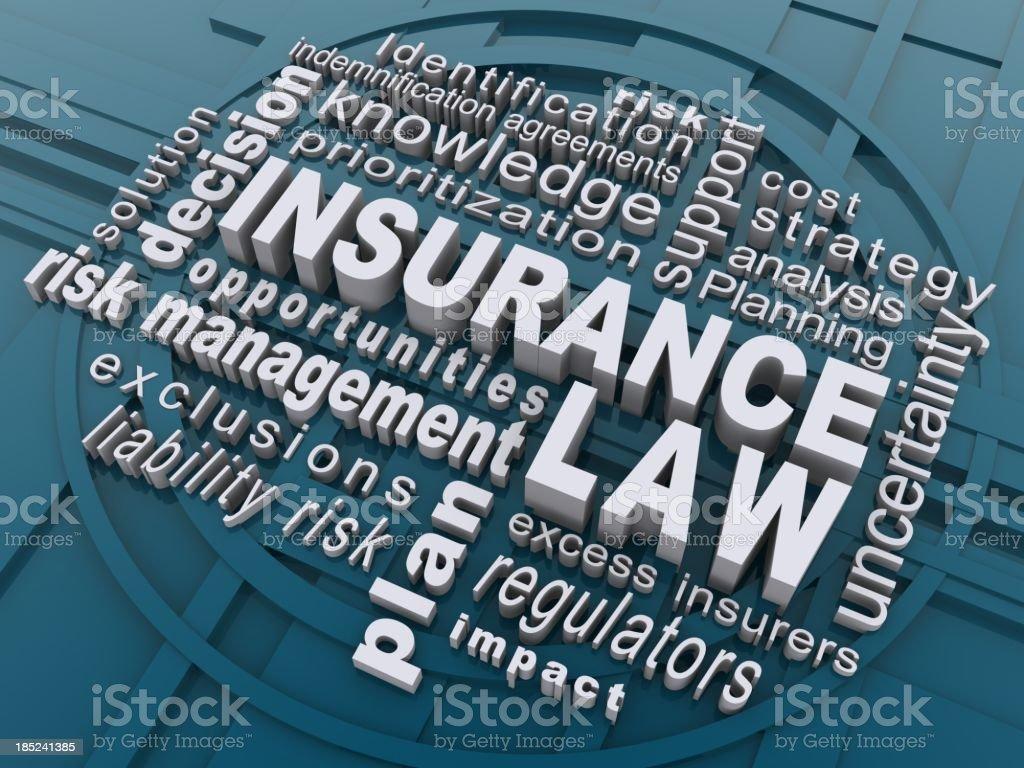 insurance law royalty-free stock photo