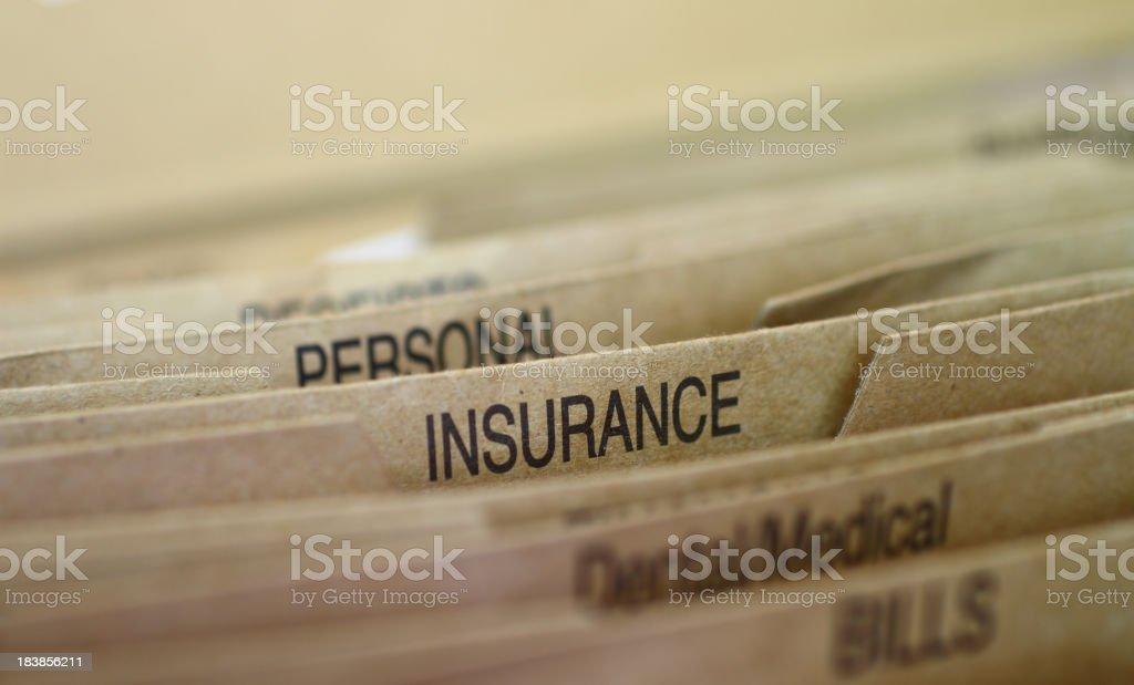Insurance royalty-free stock photo